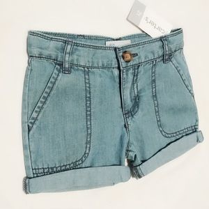 Girls Toddler Jean👖stretch shorts